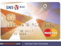 SNS Bank Credit Card Example